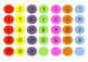 Colorful Chalkboard Spotty Calendar