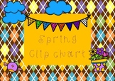 Colourful Spring Clipchart
