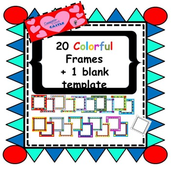 Colourful Triangle Frames