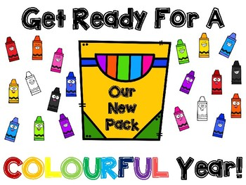 Colourful Year Bulletin Board Set