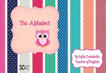 Colourful and fun alphabet!!