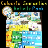 Colourful (colorful) Semantics Activity Pack