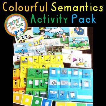 Colourful (colorful) Semantics Activity Pack