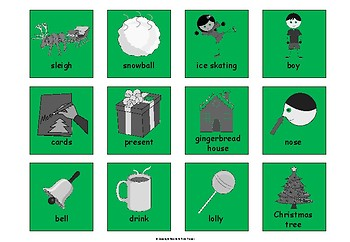 Colourful (colorful) Semantics Activity Pack Winter and Christmas Edition