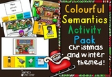 Colourful (colorful) Semantics Activity Pack Winter and Ch