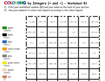 Colouring Batman by Integers (Multiply & Divide), 36-Sheet Collaborative Mosaic