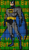 Colouring Batman by Signed Decimals (+ - × ÷) , 36-Sheet C