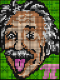 Colouring Einstein by One & Two Step Equations (32 Sheet Mosaic, 3 Versions)
