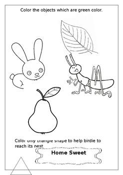 Colouring Fun Worksheet