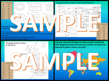 Colouring Maps - The 4 colour theorem