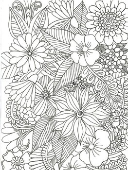 Colouring Pages Fun Simple And Relaxing
