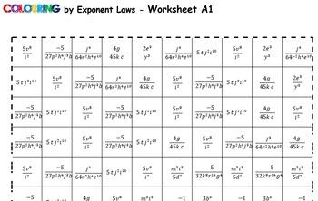 Colouring by Exponent Laws, Superman Logo (3 Versions, 9 sheet mosaics)