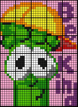 Colouring by Financial Applications, Veggie Tales (30 and