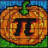 Colouring by Linear Equations, Pumpkin Pi (4 Version Bundl