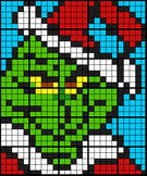 Colouring by Linear Equations - The Grinch, 1 and 2 Step E