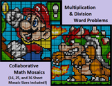 Word Problems (Multiply & Divide), Collaborative Math Mosaics