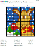 Colouring by Quadratics - Factorable Holiday Fun, 5 Small-