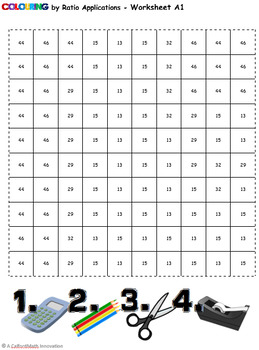 Colouring by Ratio Applications, Lego Batman BUNDLE (Four 12-Sheet Mosaics)