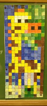 Colouring by Trigonometry - SohCahToa Giraffe