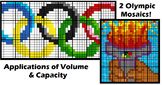Colouring by Volume, Olympic Theme (Prisms, Pyramids, Cyli