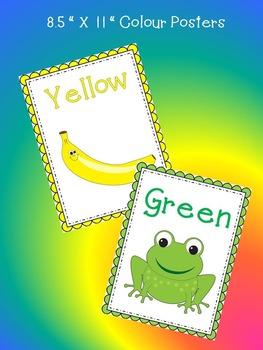 Colours - A Science Unit All About Colours