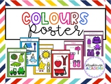 Colours / Colors Poster for Classroom