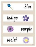 Colours Displays and Feelings / Emotions Displays - Natural with Watercolour