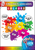 Colours - English Flashcards