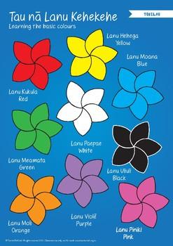 Colours In Tokelau