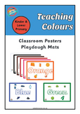 Colours - Posters or Play Dough Mats