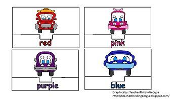 Colours Puzzles (Cars)