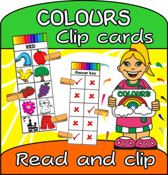 Colours Self checking clip cards