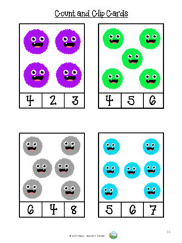 Colours - Small Pack Activities - Colour Monsters