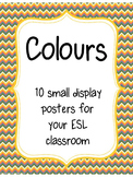 Colours- Wall display posters