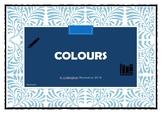 Colours Worksheet