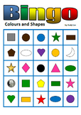 Colours and Shapes Bingo
