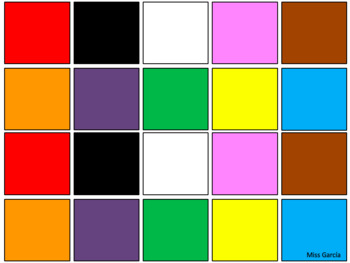 Colours game