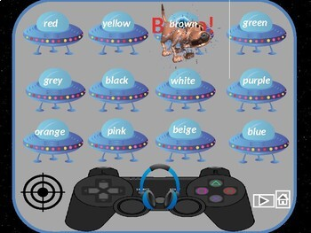 Colours in English!  Game
