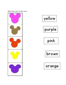 Colours review