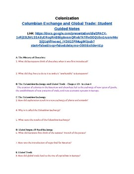 Global Trade Teaching Resources | Teachers Pay Teachers