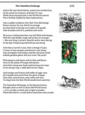 Columbian Exchange (13) - poem, worksheets and puzzle