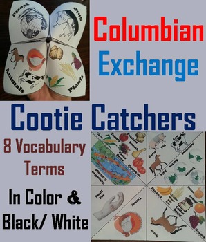 Columbian Exchange Activity (Age of Exploration Unit)