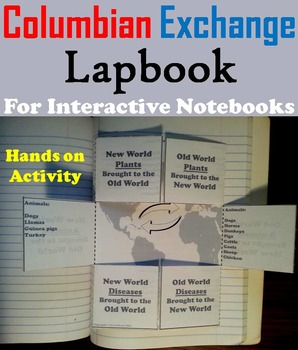 The Age of Exploration Unit: Columbian Exchange Activity/ Interactive Notebook