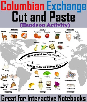 The Age of Exploration Unit: Columbian Exchange Cut and Paste Activity
