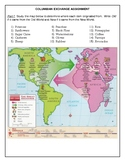 Columbian Exchange Assignment