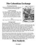 Columbian Exchange Close Reading