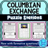 Columbian Exchange ESCAPE ROOM: Triangular Trade, Columbus, Slave Trade