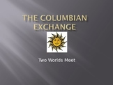Columbian Exchange Explorers PPT (Editable)