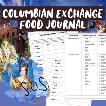 Columbian Exchange Food Journal