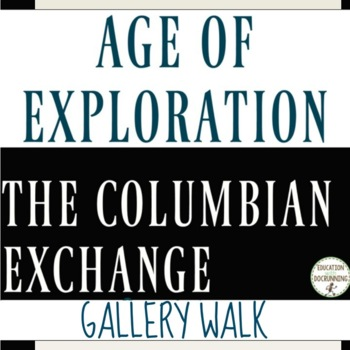 Columbian Exchange Gallery Walk and Analysis Activity
